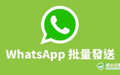 WhatsApp 批量發送,輕鬆用程式完成!